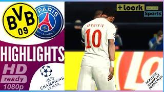 Borussia Dortmund vs PSG | Resumen | Highlights 18/02/2020 Champions League