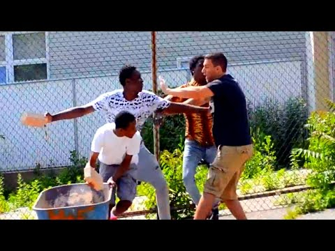 Selling Bricks in the Hood Gone Wrong - Best Pranks