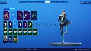 Fortnite *NEW* Freestyle skin with *LEAKED* Green style