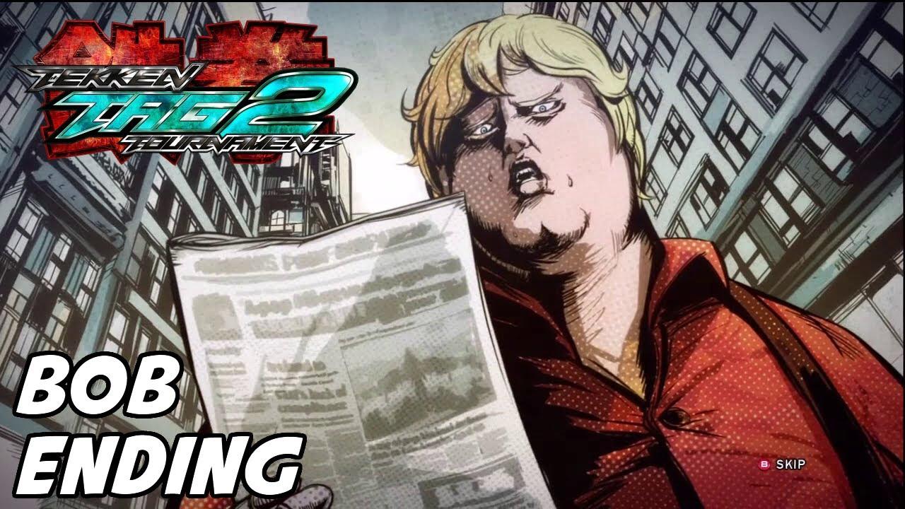 Tekken Tag Tournament 2 - Bob Arcade Ending Movie - YouTube
