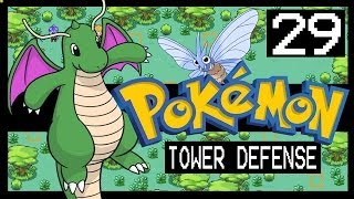 POKEMON TOWER DEFENSE WALKTHROUGH - SAFARI ZONE + SHINY DRAGONITE