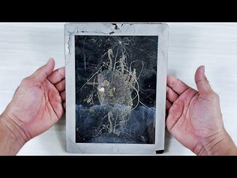 iPad 2 Cracked Restoration, Restoring old broken iPad