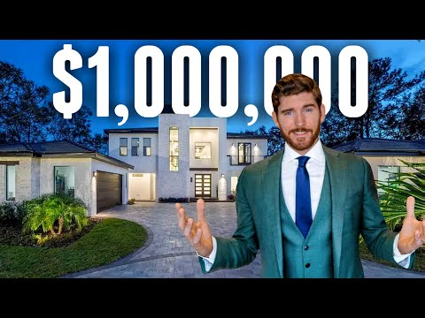 I'm Giving Away this $1,000,000 Florida Modern MANSION | Luxury Home Tour