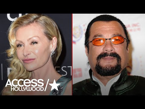Portia de Rossi Claims Steven Seagal Exposed Himself To Her | Access Hollywood