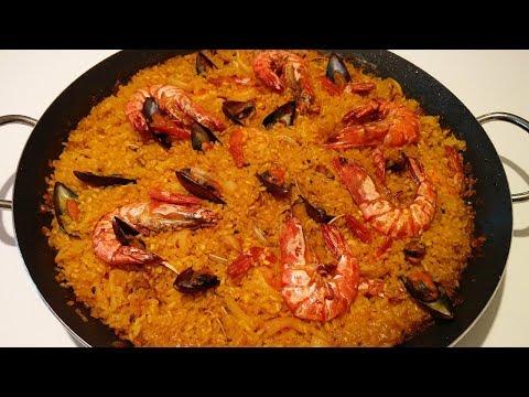 Seafood Paella – Spanish Authentic Paella | Easy Paella Recipe | Food Amigos