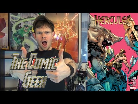 Hercules #2 Marvel Comic Book Review