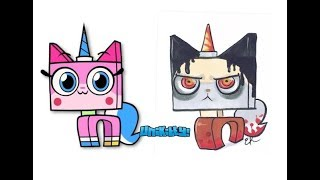Unikitty! Characters as Horror games Characters