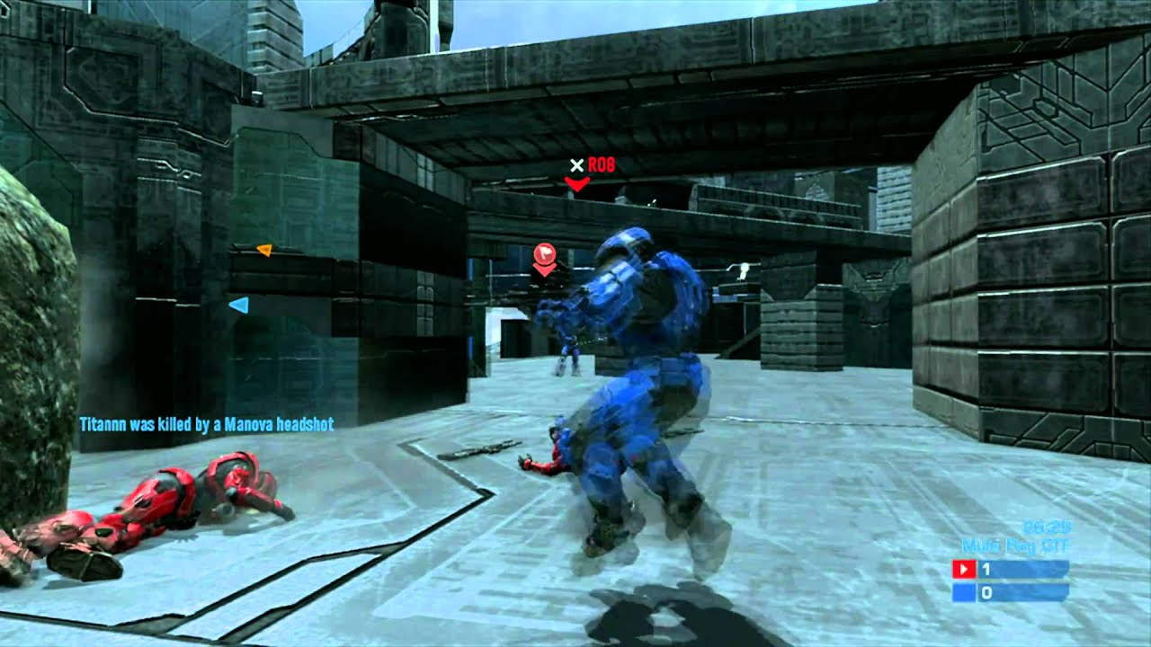 Halo Reach Sir Hulk Z online Gameplay Frenzy, Double Kill ...  Halo Reach Sir ...