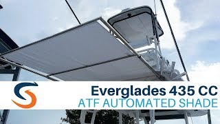 Everglades 435 Center Console - SureShade Automated Shade Demo