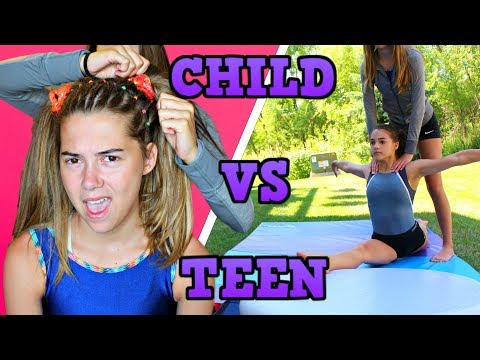 Child You VS Teen You: GYMNASTICS!