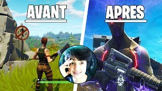FORTNITE AVANT VS APRES INOXTAG #1