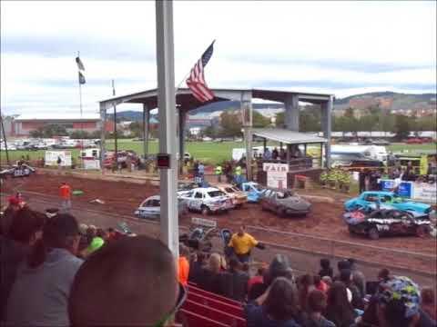 Demolition derby 2017 Indiana county fair