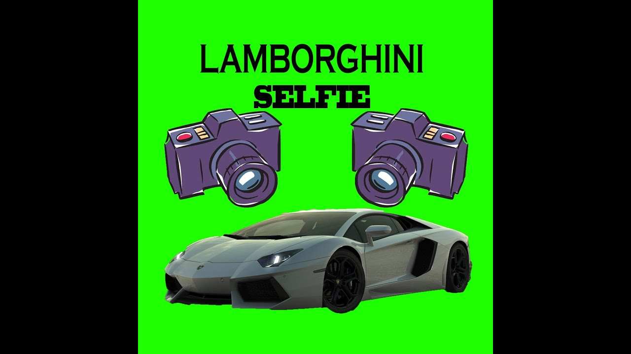 Lamborghini Selfie Photoshop How To Photoshop Cs6 Youtube