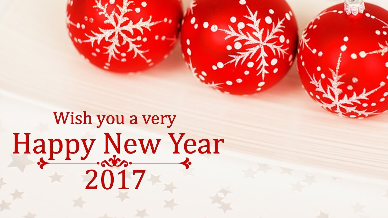 Happy New Year 2017 Greetings Whatsapp Video E Card New Year Wish