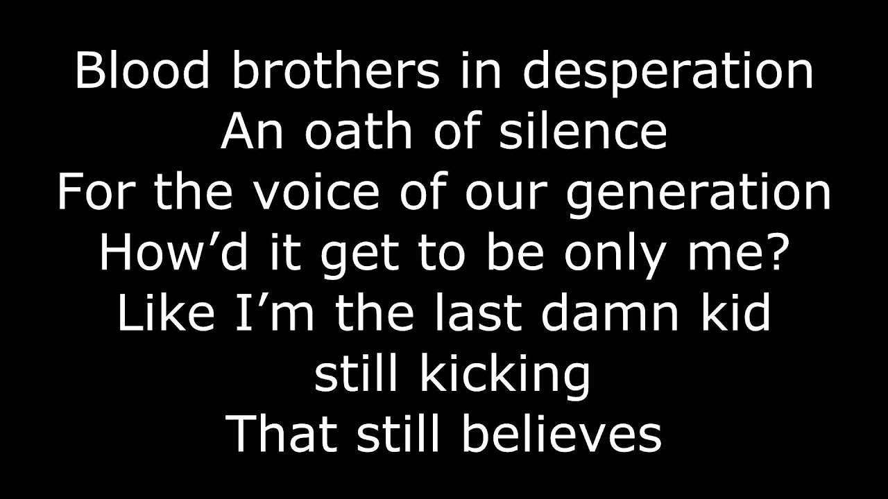 Fall Out Boy - Save Rock and Roll Lyrics - YouTube