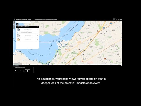 Esri Canada's Situational Awareness App