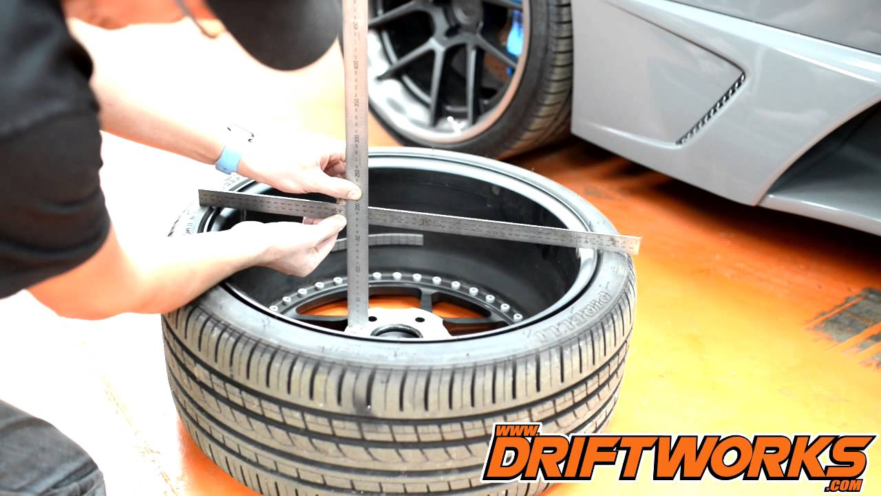 How To Measure Your Wheel Offset Et Accurately