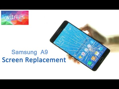 Samsung Galaxy A9(2016) LCD Screen Repair Guide