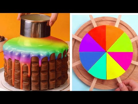 So Yummy Chocolate Cake Decorating Tutorials 😍 Best Satisfying Cake Decorating Recipes 💓 So Tasty