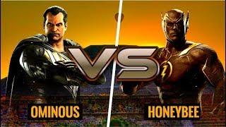 TAKING ON THE TOP TIER! HoneyBee (Flash) vs Ominous (Black Adam)