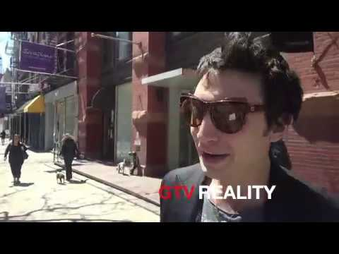 Ezra Miller drawing an octopus for me on GTV Reality