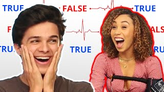 LIE DETECTOR TEST ft. MyLifeasEva and Brent Rivera | Brent vs Eva