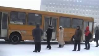 колона (Норильск) Norilsk winter