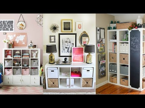 39 Ikea Kallax Shelf Hacks Youtube