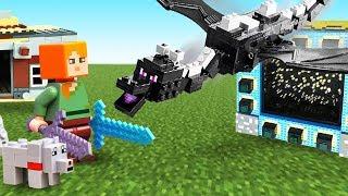 Майнкрафт видео - Как приручить дракона в Minecraft! - Игры .