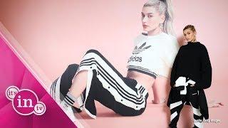 Hailey Baldwin macht neue Styles für Adidas!