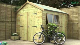 Shed-plus Champion Sheds