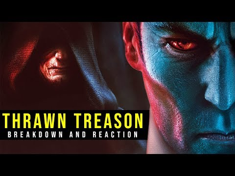 NEW THRAWN BOOK ANNOUNCED // Thrawn: Treason -- First Summary, Breakdown & Reaction