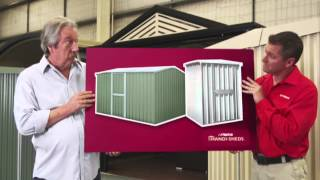 Stratco Homeshed Garage, Garden And Storage Sheds Tv Commercial | Michael Caton