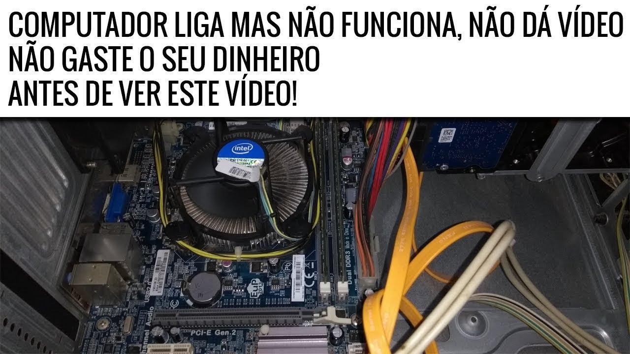 Computador nao liga