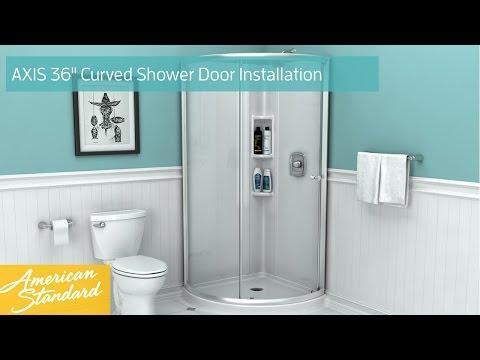Cerise 38 Round Shower
