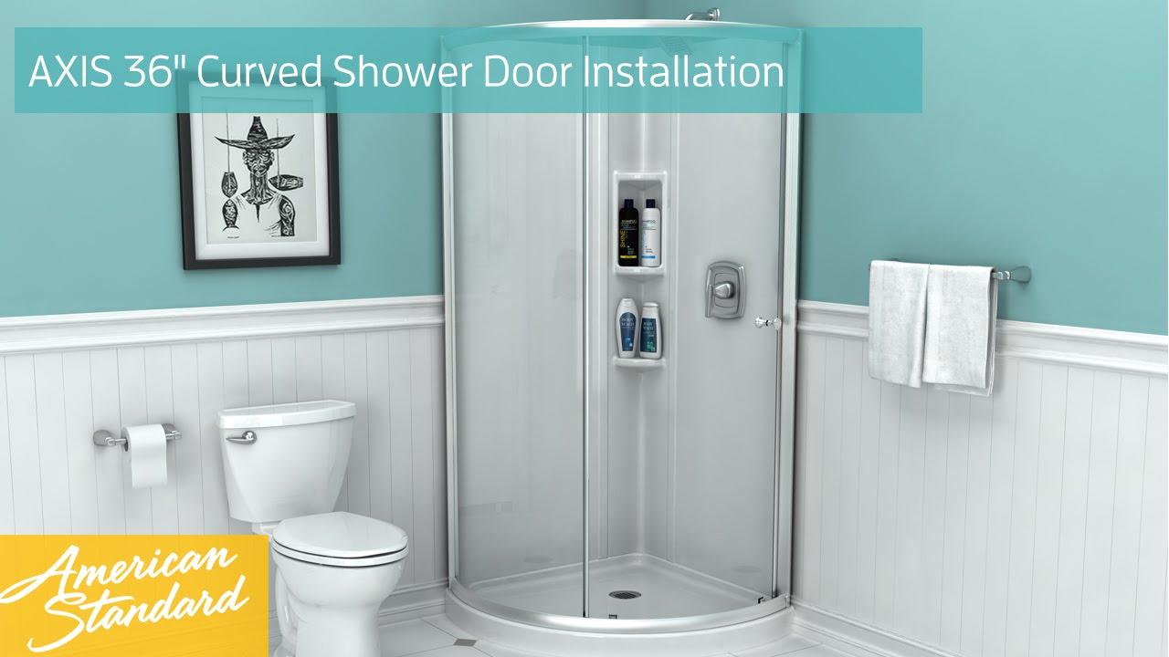corner shower diagram [ 1280 x 720 Pixel ]
