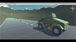изучение Unity3D 2019 на реальных примерах - Урок 1 Создание игровой сцены. Движение объекта