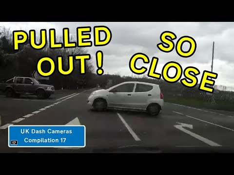 UK Dash Cameras - Compilation 17 - 2019 Bad Drivers, Crashes + Close Calls
