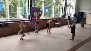Открытый урок школы плавания Север для детей в Соснах