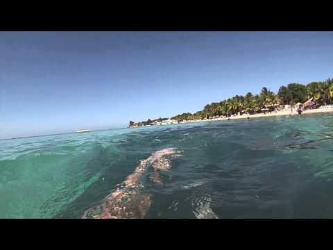 Roatan, Honduras - Swimming at West Bay Beach HD (2016)