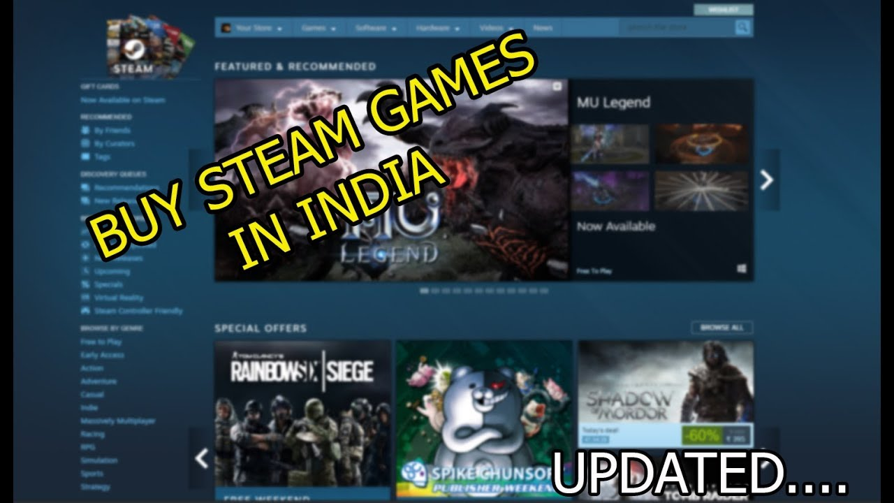 steam how to buy games