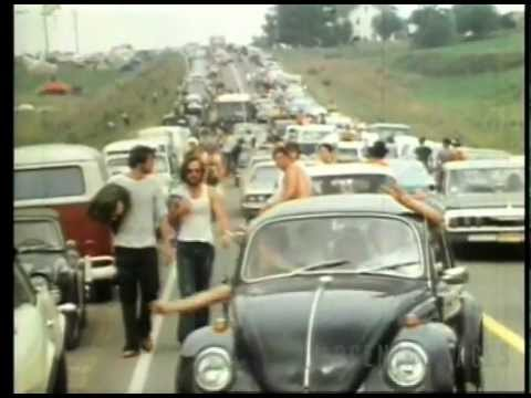 1969 Woodstock, the greatest American concert event ever.