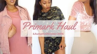 PRIMARK AUTUMN/WINTER TRY ON HAUL (clothing, bags, beauty)  | SEPTEMBER 2016 - Sarah Wore What