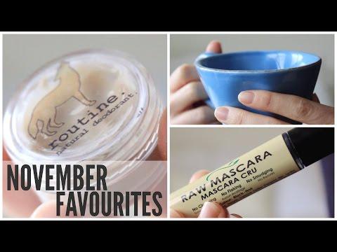 November Favourites 2016   Natural Health & Beauty