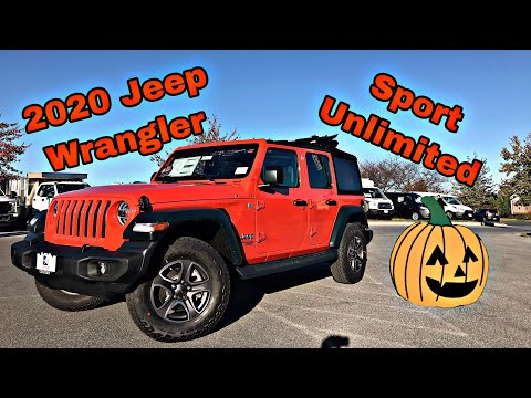2020 Jeep Wrangler Unlimited - Fuel Mileage Test, Soft Top, Great Option List For Sport Model!!!