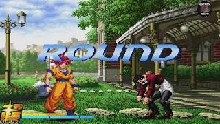 MUGEN GAMEPLAY! GOKU ULTRA INSTRINCT VS OROCHI IORI! CHARACTER DOWNLOAD!