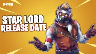 Star Lord Fortnite Skin RELEASE DATE & More Info - Fortnite x Marvel Collab Item Shop Rotation