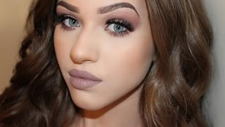 w7 in the nude eyeshadow palette   talk through tutorial