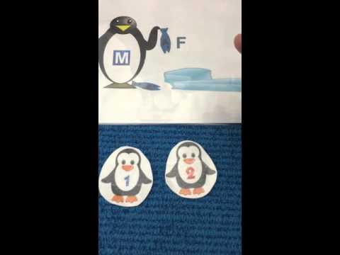 5 Little Penguins Song