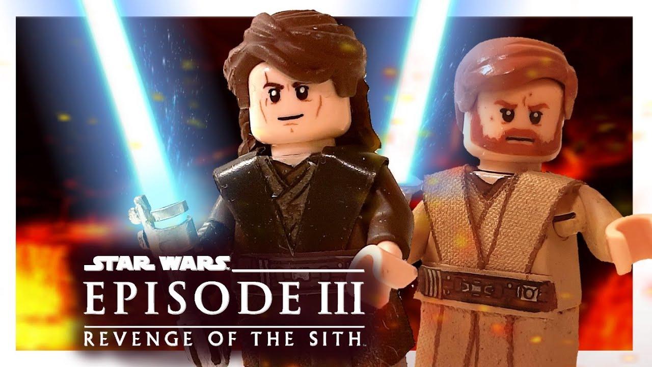 Lego Starwars Custom Minifigures Anakin Skywalker And Obiwan Kenobi Eng Sub Youtube
